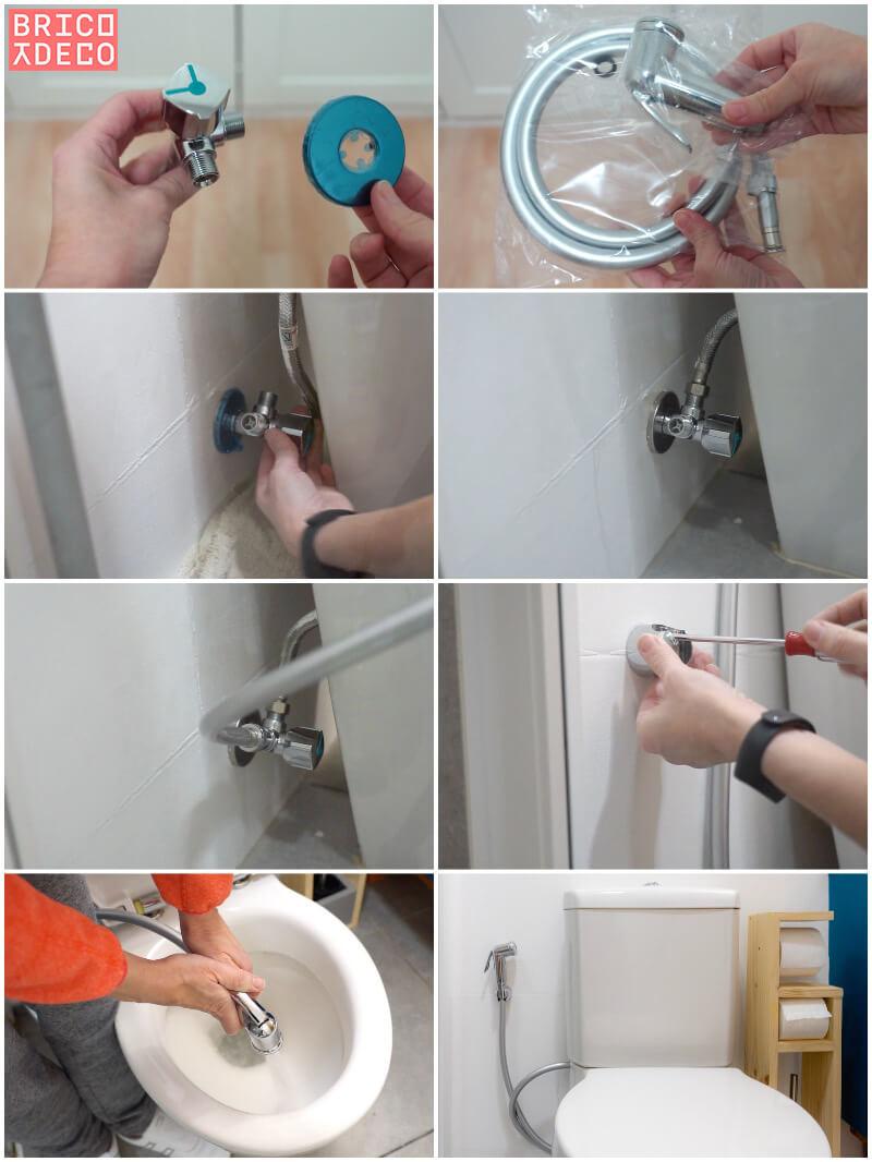 instalar una válvula doble en el inodoro